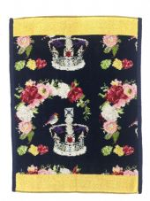 Feiler 'Royal Crown' Guest Towel - Yellow Gold